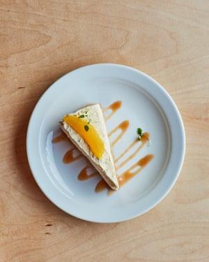 Cheesecake de barbilla de Chuku.