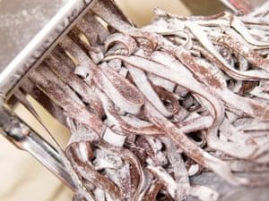 Tagliatelle al cioccolato