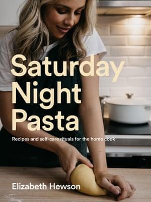 Portada de Pasta de sábado por la noche de Elizabeth Hewson