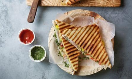 Sándwich Bombay de Nik Sharma.