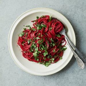 Ruby Noodles de Nigella Lawson.