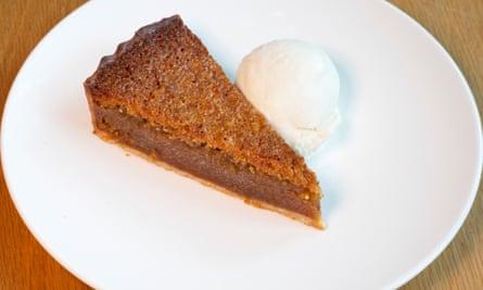 """""""A las cocinas les encanta hacerlo ahora. Bien por mí """": pastel de melaza."""