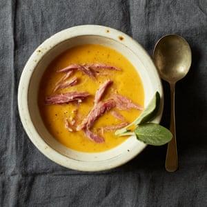 Sopa de jamón y calabaza asada de Stosie Madi.