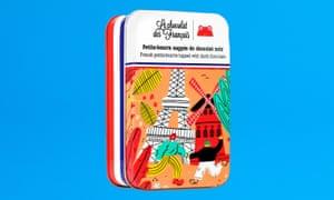 Galletas de chocolate francés