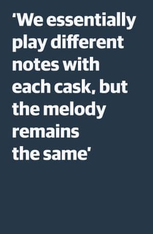 Cita: `` Básicamente tocamos notas diferentes con cada tambor, pero la melodía sigue siendo la misma ''