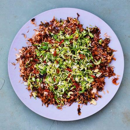 Nasi goreng del rodaje de Meera Sodha