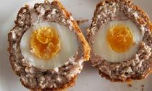 Receta escocesa de huevo y jengibre