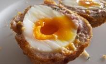 Receta de huevo escocés Angela Hartnett