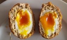 Receta de huevo escocés Heston Blumenthal