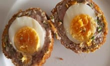 Receta de bote de huevo escocés