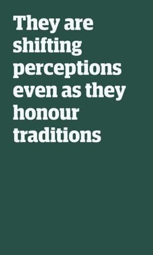 Cita: Cambian las percepciones incluso cuando honran las tradiciones.