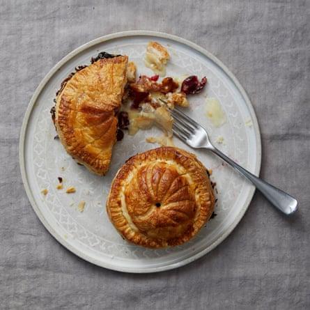 Camembert de Pithiviers, arándanos y nueces de Michael & # 39; s Chakrevery.
