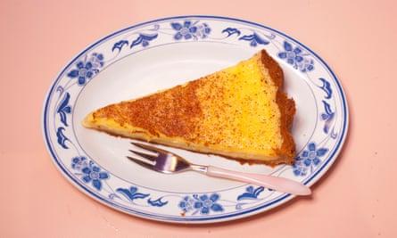 """A Perfect Slice"": pastel de crema."