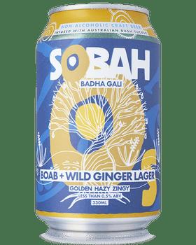 Bebidas Sobah Boab Wild Ginger Lager