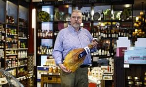 Peter Kinsella, Restaurante y Deli Lunya, Liverpool