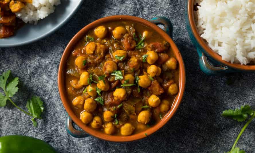 Chana masala… satisface todas sus necesidades reconfortantes.