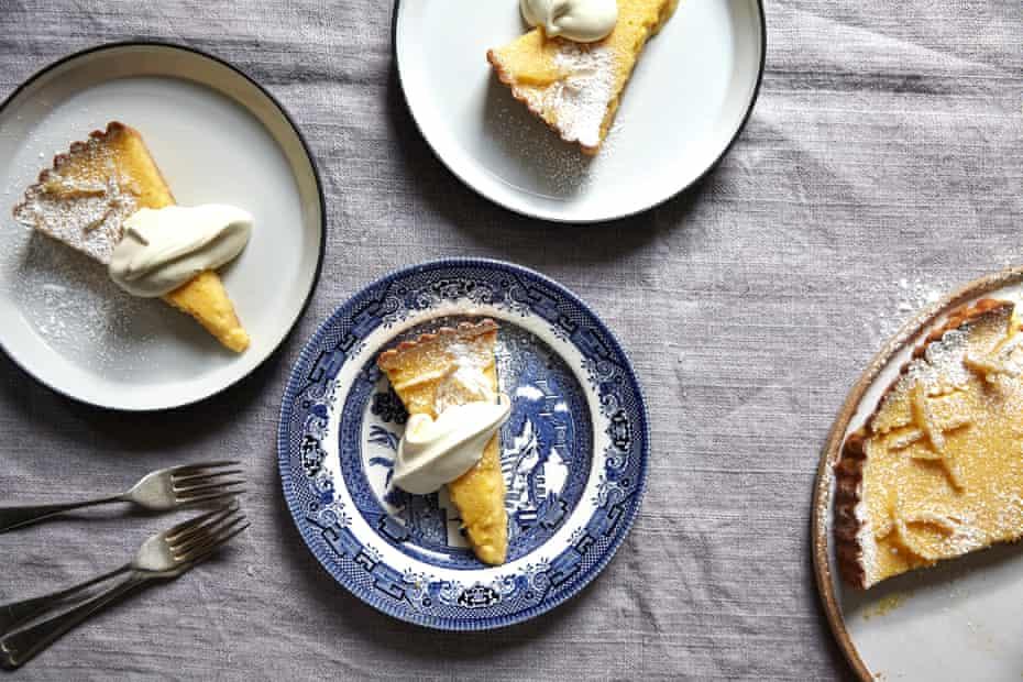 Tarta de limón de Jeremy Lee.