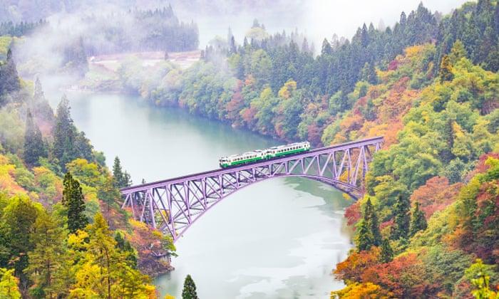 Historia: Los 10 viajes en tren más pintorescos de Japón – En imágenes | Japón desconocido