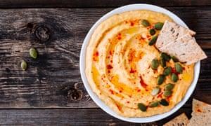 Hummus casero… perfecto para picar.