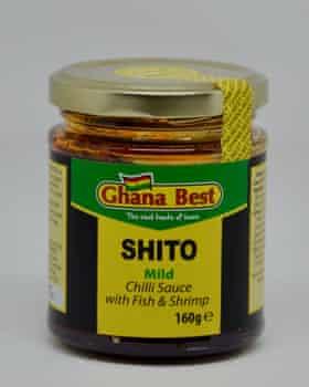 Ghana mejor shito