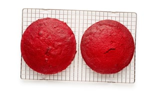 Pastel de terciopelo rojo Felicity Cloake 07