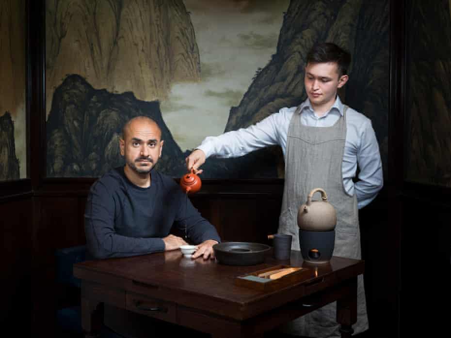 Gavin Ambani, también conocido como Hargobind Tahilramani, en Xu en Londres