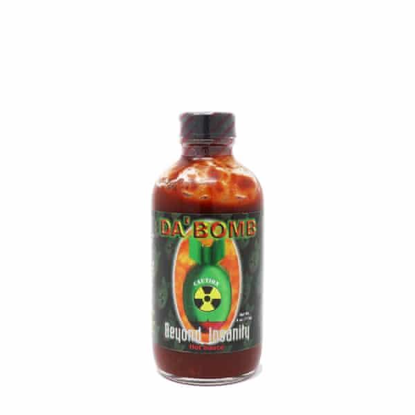 Más picante que el infierno: la salsa picante de Da Bomb.