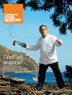 Portada OFM Octubre 2008 Ferran Adria Observer Food Monthly