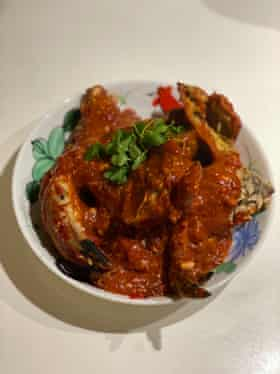 La versión de Leong Yee Soo se fríe en manteca y usa ocho cucharadas de salsa de tomate.