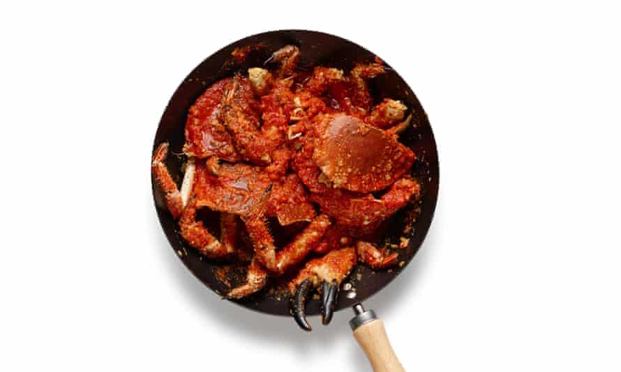 El cangrejo perfecto paso 5