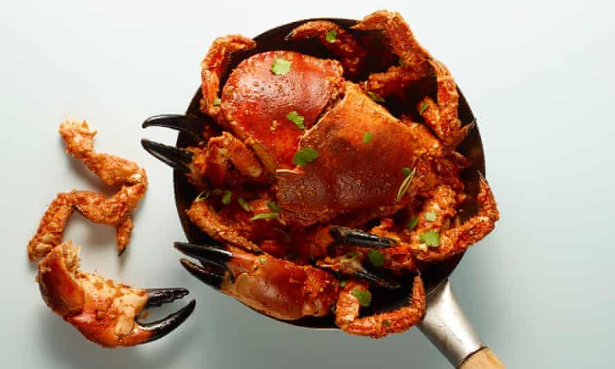 (Cangrejo chili perfecto de Singapur de Felicity Cloake).