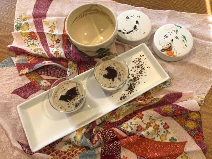 Tapioca japonesa de Sueda