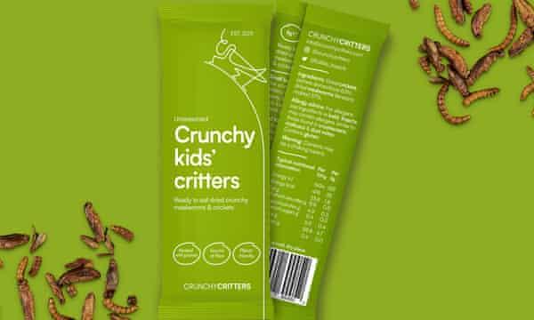 Paquetes de criaturas crujientes para niños