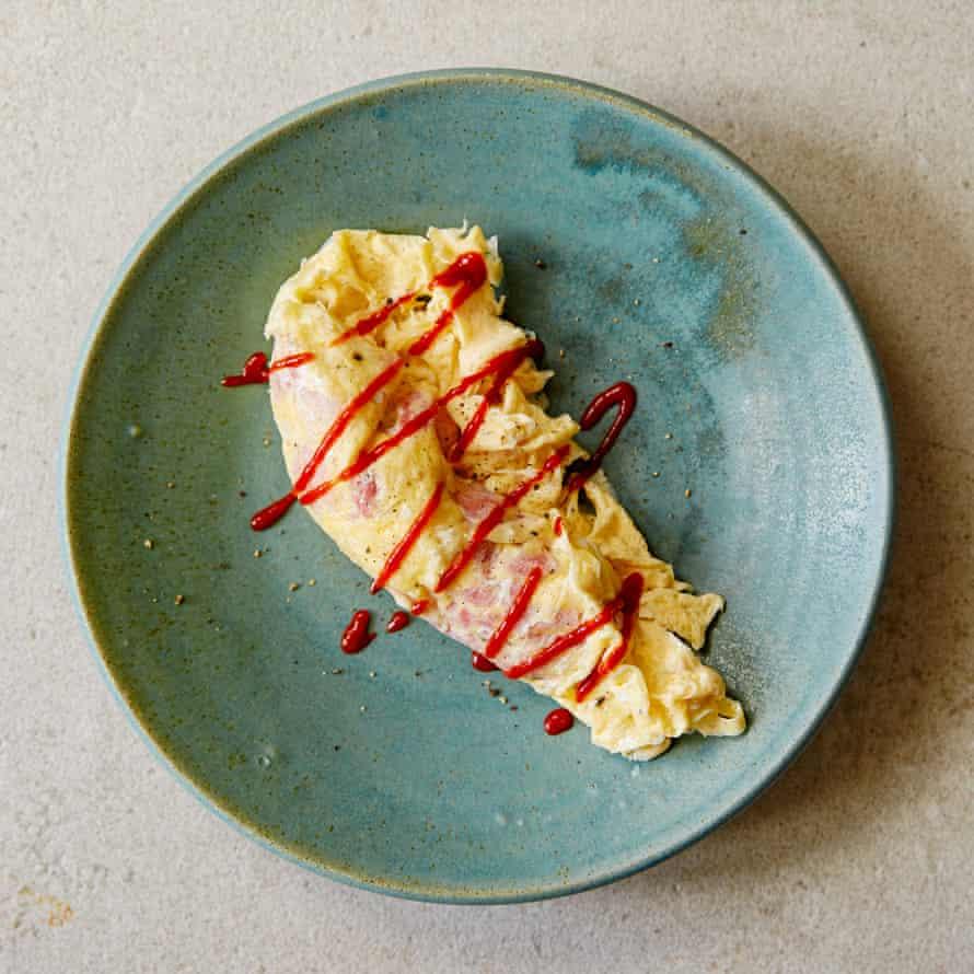 Omelette à la Courmite de Marcus Rashford y Tom Kerridge.