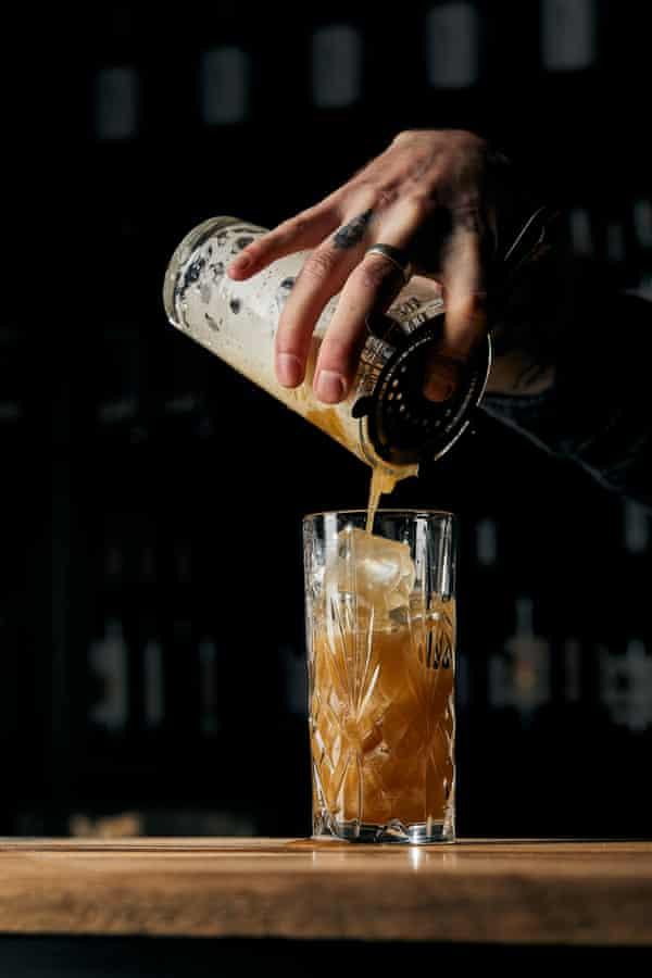 Un cóctel sin alcohol servido en Brunswick Aces.