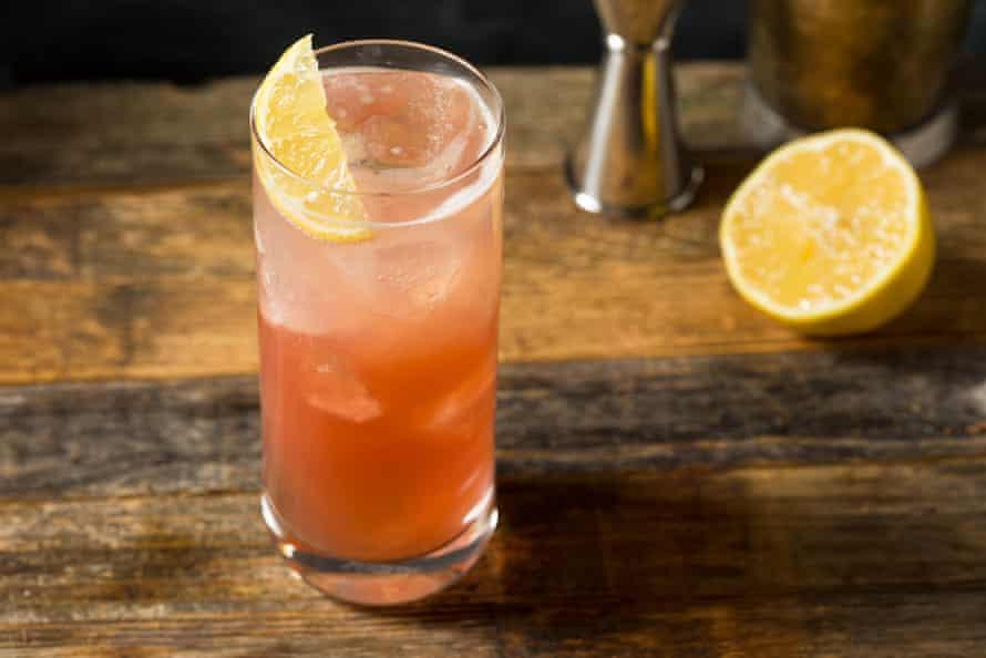 Para un cóctel hecho con limón y ginebra, pruebe el espumoso endrino picante de Jazmine Quigley.