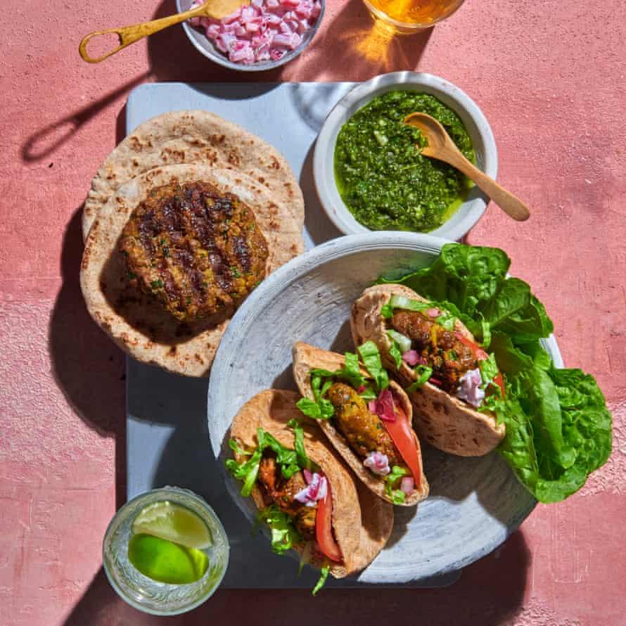 Chapli kabab.