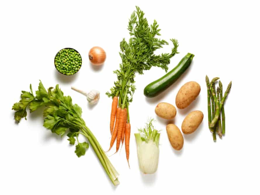 verduras minestrone.