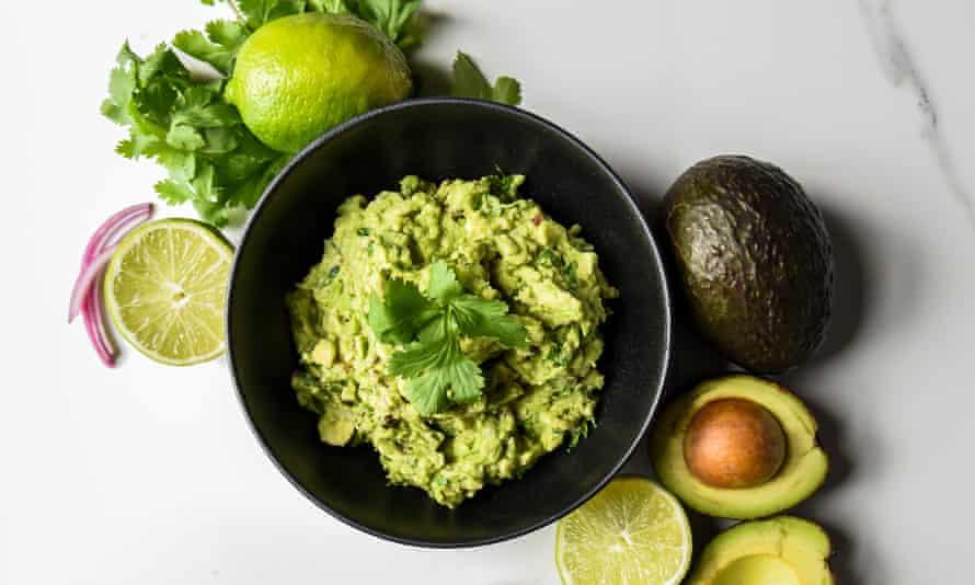 El aguacate descongelado se puede convertir en guacamole o batido.