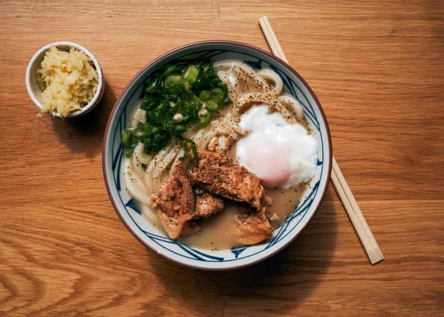 The Chicken Paitan en Marugame Udon, E1.